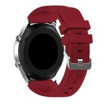 Pulseira De Silicone para Samsung Galaxy Gear S3 ou Watch 46mm - Rose Red - Jetech