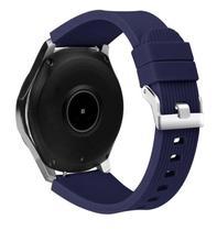 Pulseira De Silicone para Samsung Galaxy Watch 46mm - Azul marinho - Jetech