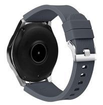 Pulseira De Silicone Para Samsung Galaxy Watch 46mm - Cinza Escuro - Jetech