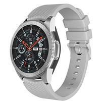 Pulseira De Silicone Para Samsung Galaxy Watch 46mm - Cinza - Jetech