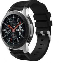Pulseira De Silicone para Samsung Galaxy Watch 46mm - Preta - Jetech