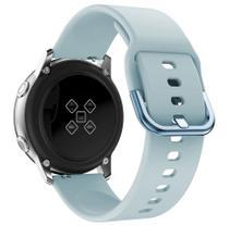 Pulseira De Silicone para Samsung Galaxy Watch Active - Azul Claro / Jetech -