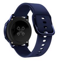 Pulseira de silicone para Samsung Galaxy Watch Active - Azul escuro - Jetech