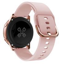 Pulseira De Silicone para Samsung Galaxy Watch Active - Rose / Jetech -