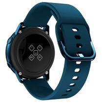 Pulseira De Silicone para Samsung Galaxy Watch Active - Verde escuro / Jetech -