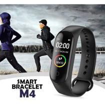 Pulseira Inteligente M4 Monitor Cardíaco Relógio -