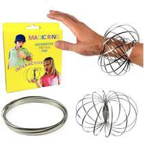 Pulseira Magica Argola Metal Anti Stress Magic Flow Fidget - Magic Ring