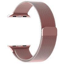 Pulseira Milanese Para Apple Watch 38mm - Rosê - Bms