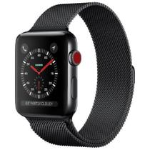 Pulseira Milanese Para Apple Watch 42mm 44mm Iwo 8 Iwo 9 Oled 2 Oled 3 - Bestchoice