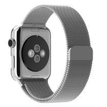 Pulseira Milanese Para Apple Watch 42mm - Prata - Isd
