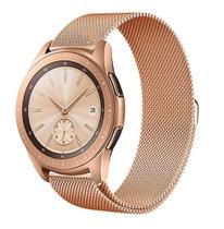 Pulseira Milanese Samsung Galaxy Watch Bt 46Mm, Gtr 47mm, Gear 2, Gear 2 neo, Gear S3 Gold Rose - Tcshick