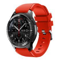 Pulseira Silicone Para Samsung Gear S3 e Galaxy Watch 46mm, Gtr 47mm, Gear 2, Gear 2 Neo - Tcshick
