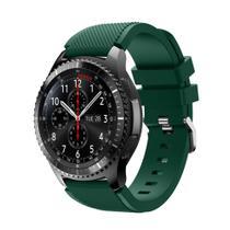 Pulseira Silicone Samsung Gear S3 E Galaxy Watch 46Mm Verde - Tcshick