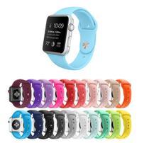 Pulseira Silicone Watch Series 1 2 3 4 5 38mm 40mm - Dv