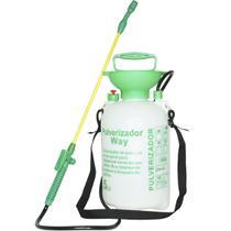 Pulverizador Manual 5 Litros Borrifador Costal com Pressão Bico Ajustável Importway IWPM5-005 -
