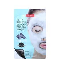 Purederm Deep Purifying Black O2 Bubble - Máscara de Limpeza Facial 20g -