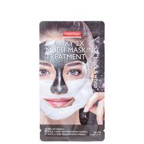 Purederm Galaxy 2X Black & White - Máscara Facial 12g -