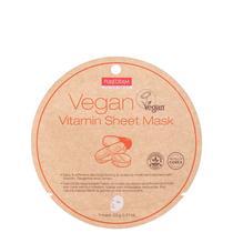 Purederm Vegan Vitamin Sheet - Máscara Facial 23g -