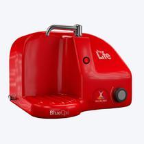Purificador Alcalinizador e Ionizador ou Ozonizador de Água - Top Life Blue OxiHe - Vermelho - 220V -