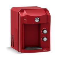 Purificador Alcalinizador e Ionizador ou Ozonizador de Água Top Life New HeOxi - Vermelho - 220V -