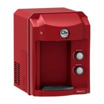 Purificador Alcalinizador e Ionizador ou Ozonizador de Água - Top Life New OxiHe - Vermelho - 127V -