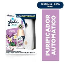 Purificador de Ar Aparelho Automatic (Promoção Pilha + Refil Spray Lavanda & Vanilla 175g) - Glade -