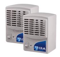 Purificador Ionizador E Ozonizador De Ar 1,5w Original Novo Modelo Kit Com 2 Unidades - Iza Air