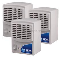 Purificador Ionizador E Ozonizador De Ar 1,5w Original Novo Modelo Kit Com 3 Unidades - Iza Air