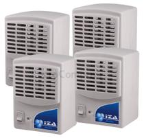Purificador Ionizador E Ozonizador De Ar 1,5w Original Novo Modelo Kit Com 4 Unidades - Iza Air