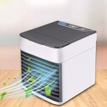 Purificador Umidificador Portátil Climatizador Ambiente Luz - Eletric Drill