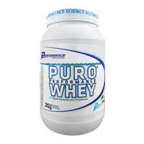 Puro Whey Protein Concentrado Performance 909g Sabores -