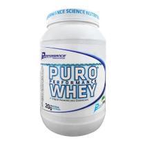 Puro Whey Protein Concentrado Performance 909g Vários Sabores -