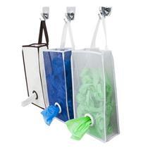 Puxa Saco Organizador Para Sacolas Plásticas 1un Secalux -
