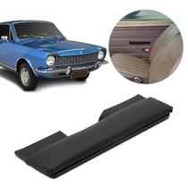 Puxador Porta Descanso de Braço Corcel 1972 a 1984 Preto Almofadado Fixo - Grampola