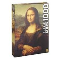 Puzzle 1000 peças Monalisa - Grow Quebra Cabeça 0898 -