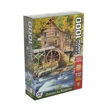Puzzle 1000 peças Outono na América - Grow -