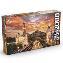 Puzzle 2000 peças Estação da Luz 03737 - Grow -