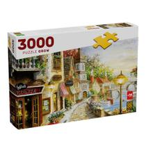 Puzzle 3000 peças Villaggio  DItalia - Grow