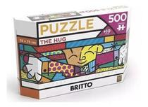 Puzzle 500 Peças Panorama Romero Britto The Hug 3401 - Grow -