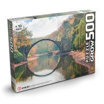 Puzzle 500 peças - Ponte Espelhada - Grow - Grok