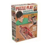 Puzzle Play Gigante Corpo Humano Grow 3636 -