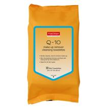 Q-10 Make up remover cleansing towelettes Purederm - Lenço Demaquilante -