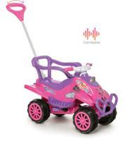 Quadriciclo Cross Turbo Pink Completo Calesita Ref 968 -