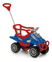 Quadriciclo Cross Turbo Vermelho Completo Calesita Ref 966 -