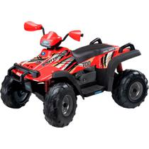 Quadriciclo Elétrico Infantil Peg-Pérego Polaris Sportsman 700 Twin - EL 12V - New Red -