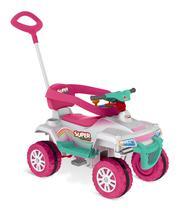 Quadriciclo Infantil a Pedal Super Quad - Bandeirante -