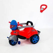 Quadriciclo Infantil com Empurrador - Baby City - Spider - Maral -