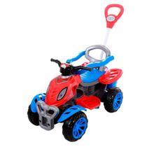 Quadriciclo Infantil com Empurrador - Spider - Maral -