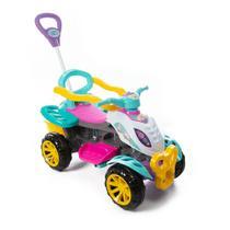 Quadriciclo Infantil Passeio E Pedal Magical Unicornio Menina Maral -