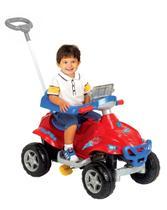 Quadriciclo Infantil Passeio E Pedal Vermelho - Magic Toys -